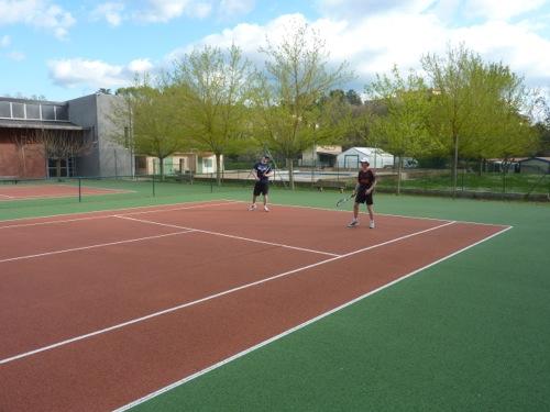 camping verdon tennis