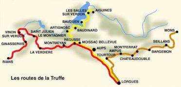 route de la truffe provence