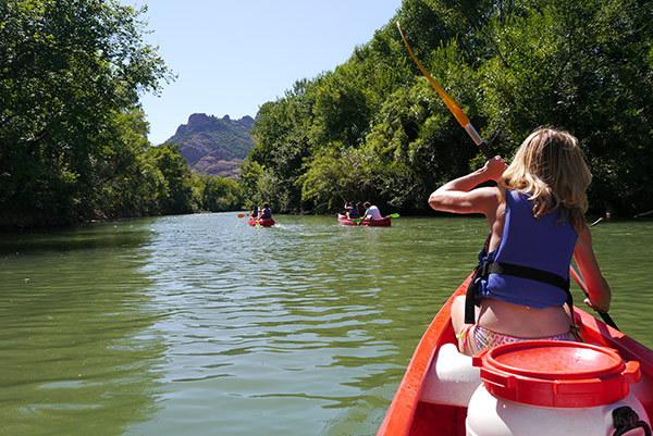 canoe provence