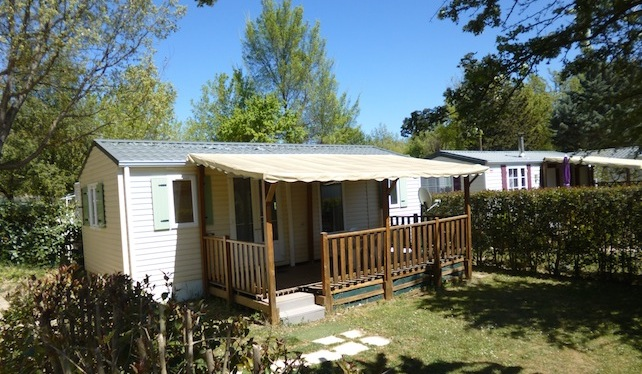 location mobil home verdon