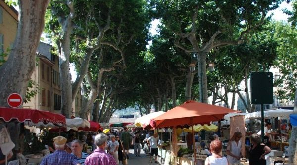 Provencal villages and markets