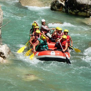 eaux vives gorges du verdon canyoning