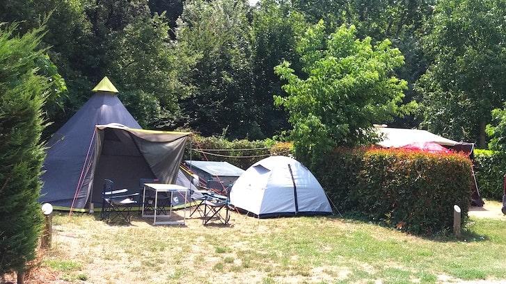 emplacement de camping gorges du Verdon