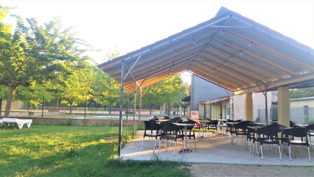 camping dans le Verdon avec snack-bar