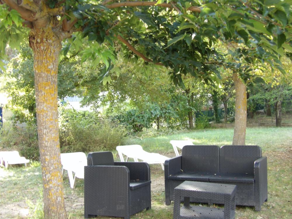 camping avec snack dans les gorges du Verdon